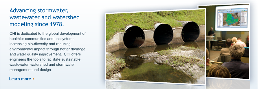 We've been advancing stormwater management, wastewater and watershed modeling since 1978.